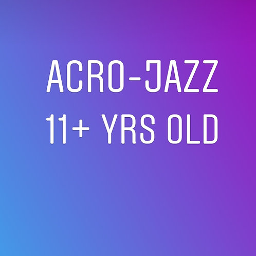 Fridays 5:15pm Acro Jazz Teens In Studio