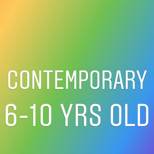 Monday 5pm Contemporary for 6-10 yrs old- In Studio
