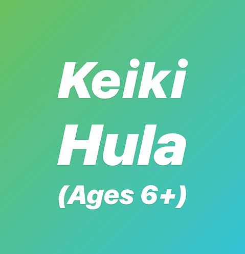 Tuesday 6pm Keiki Hula- In Studio