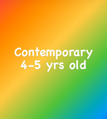Friday 4:15pm Contemporary for 4-5 yrs old