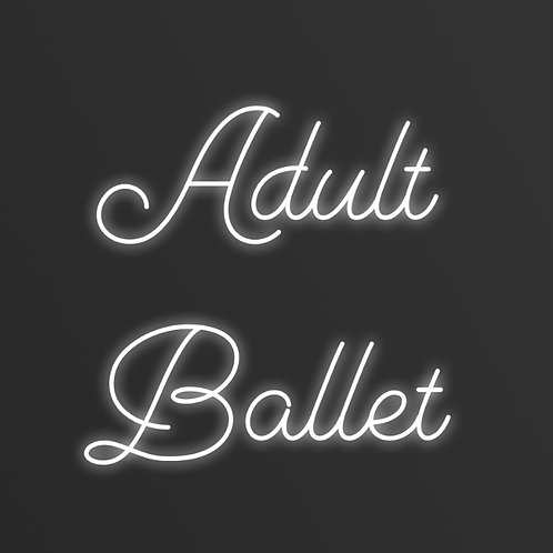 Wednesday 7pm Ballet for Adults- Online