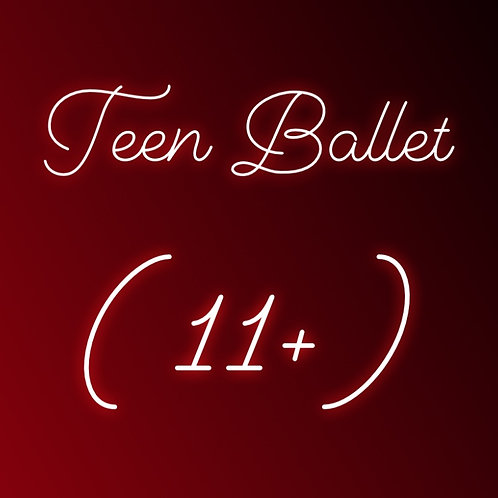 Wednesday6pm Ballet for Teens - Online