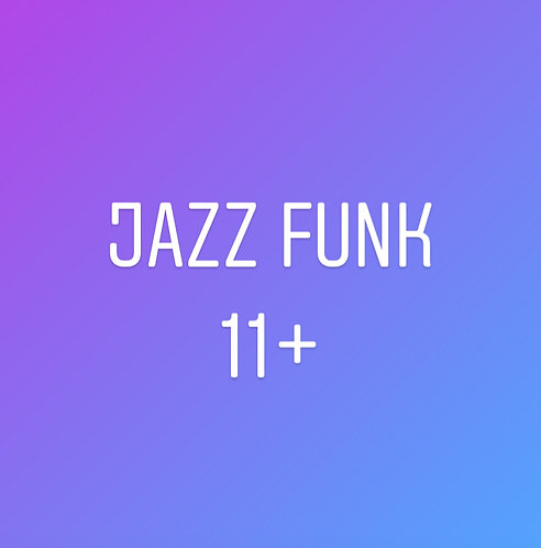 Wednesday 6pm Jazz Funk for Teens In Studio