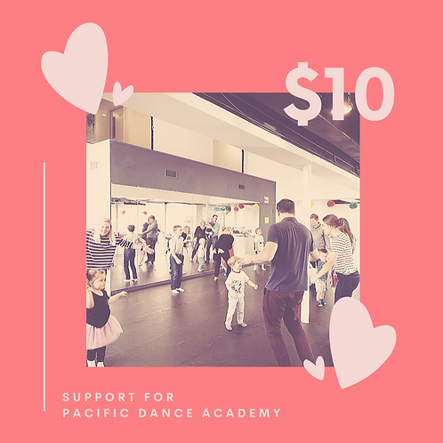 Support Pacific Dance Academy with a $10 donation