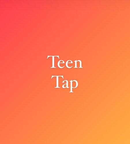 Saturday 12:15 pm Tap for Teens
