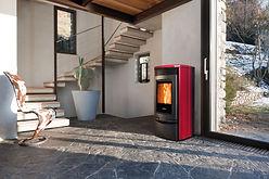 calefaccion de pellet en asturias, reformas de cocinas y baños.