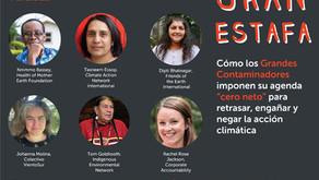"""Colectivo VientoSur participó de seminario sobre grandes contaminadores y """"cero neto"""""""