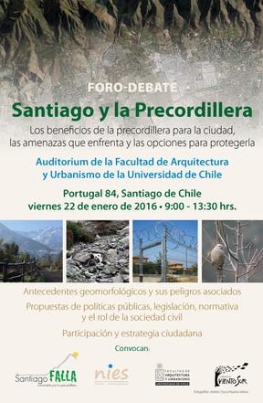 Afiche foro-debate precordillera final.j