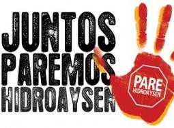 INFORMAN EN INTENDENCIA MARCHA CONTRA HIDROAYSEN EN CASO DE APROBACIÓN