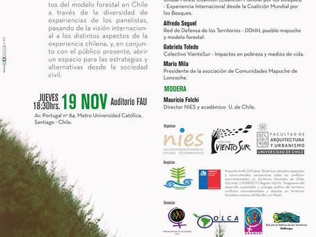 FORO DEBATE A 40 AÑOS DEL DL 701: un examen crítico al modelo forestal chileno