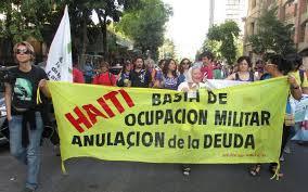 HAITÍ – 10 AÑOS DE OCUPACIÓN -¡BASTA! ¡Retiro inmediato de las tropas y fin de la MINUSTAH! LLAMADO