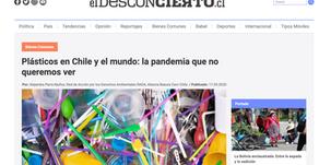Columna de opinión de Alejandra Parra sobre el el consumo y los residuos de plástico