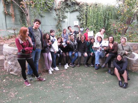 Entrega de Guía de Historia Natural al Colegio Altamira