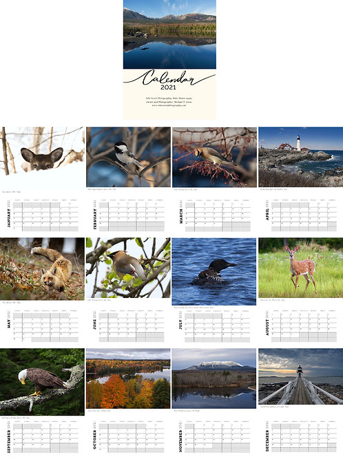 Wall Calendar, 8.5x11