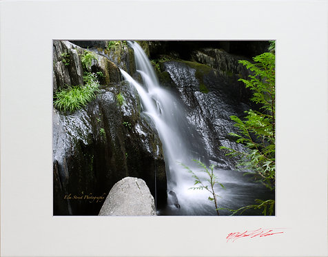 Screw Auger Falls, 8x10 Lustre Matte Print, matted to 11x14