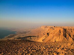 Ein Gedi Kibbuts and reserve near Dead S