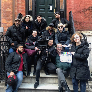 Crew from our outdoor shoot day