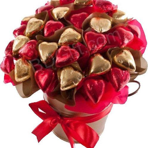 Chocolate Heart Bouquet