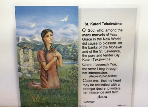Prayer to St. Kateri Tekakwitha
