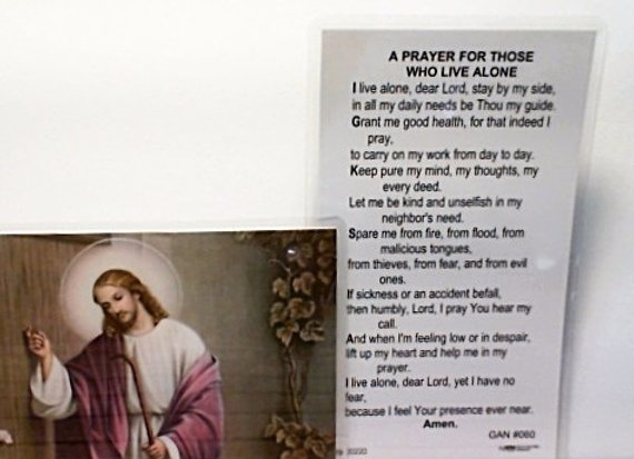 A Prayer for Those Who Live Alone