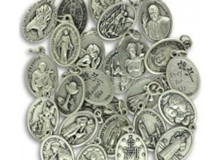 Assorted Saint Medals