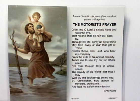 The Motorist Prayer