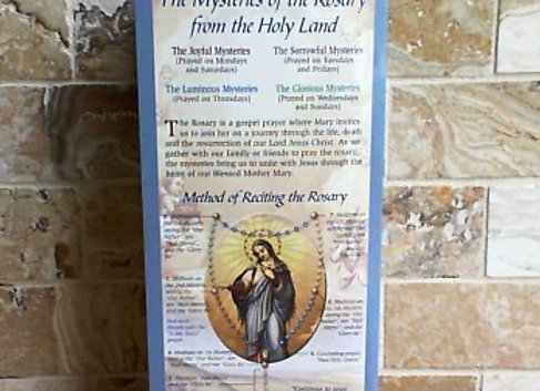 The Mysteries of the Rosary Pamphlet