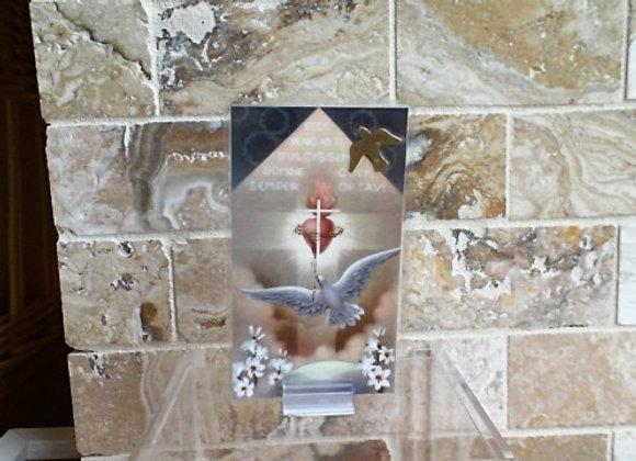 Prayer to the Holy Spirit Card