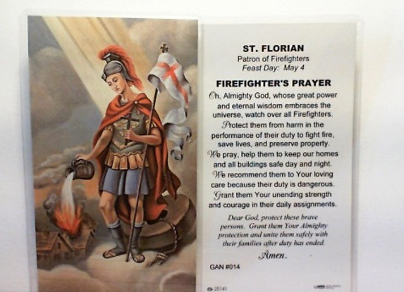 Prayer to St. Florian - Patron of Firefighters