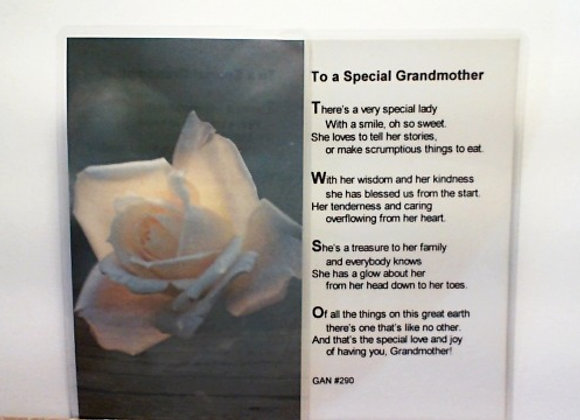 Prayer To A Special Grandmother