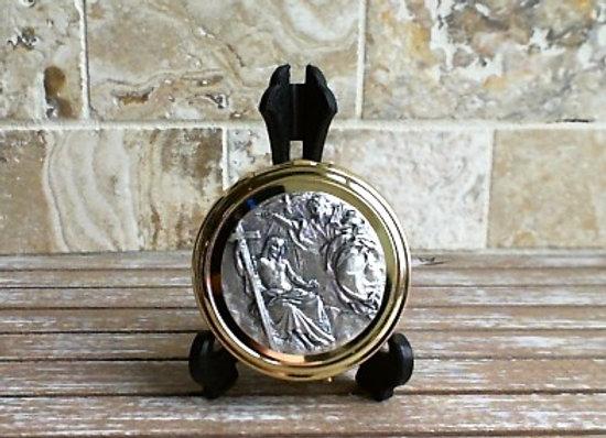 Gold & Silver Coloured Pyx