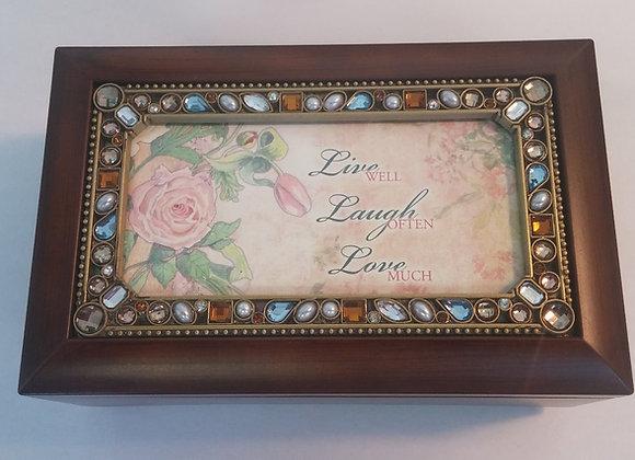 Musical jewelery box