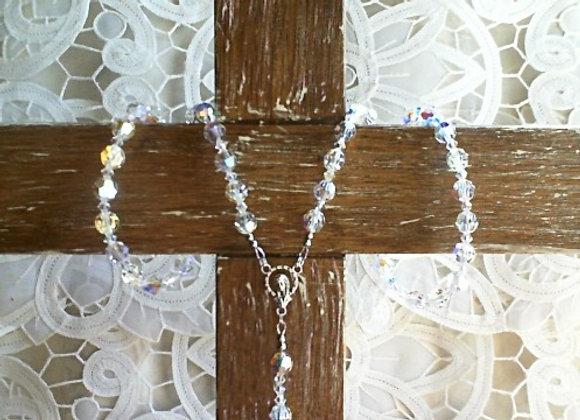 Rosary - Swarovski Crystal