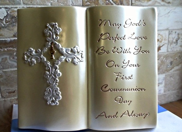 First Communion Plaque