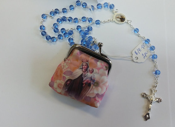 Rosary with purse