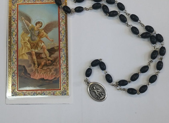 St. Michael Chaplet with prayer card