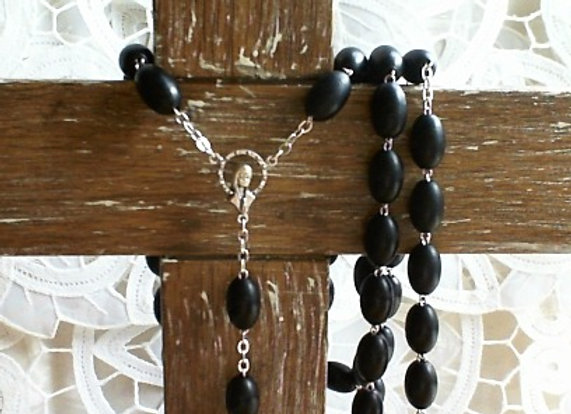 Rosary - Large Oval Beads