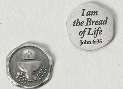 First Communion Pocket Token