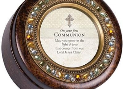 First Communion Keepsake Music Box