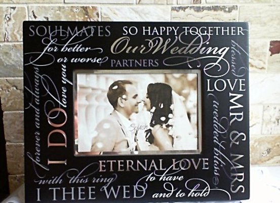 Our Wedding Day Frame