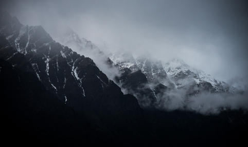 'The Misty Mountains'