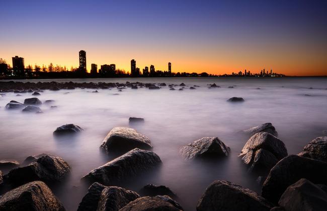 'Where Skyline meets the Sea'