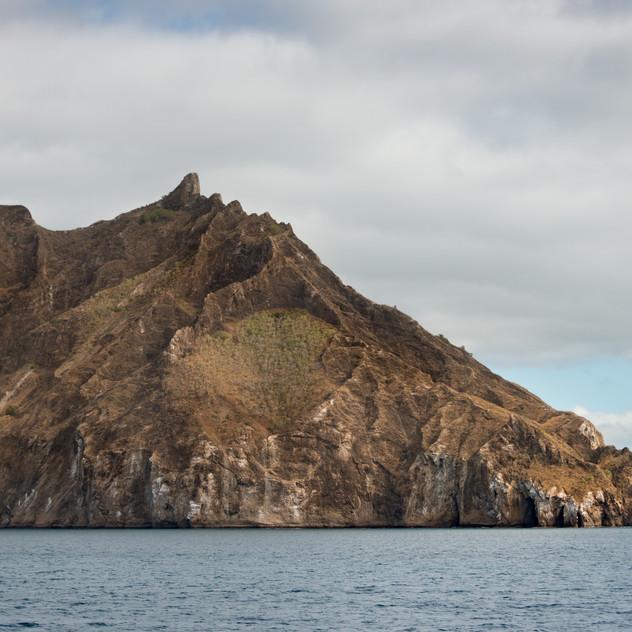 Rugged coastlines