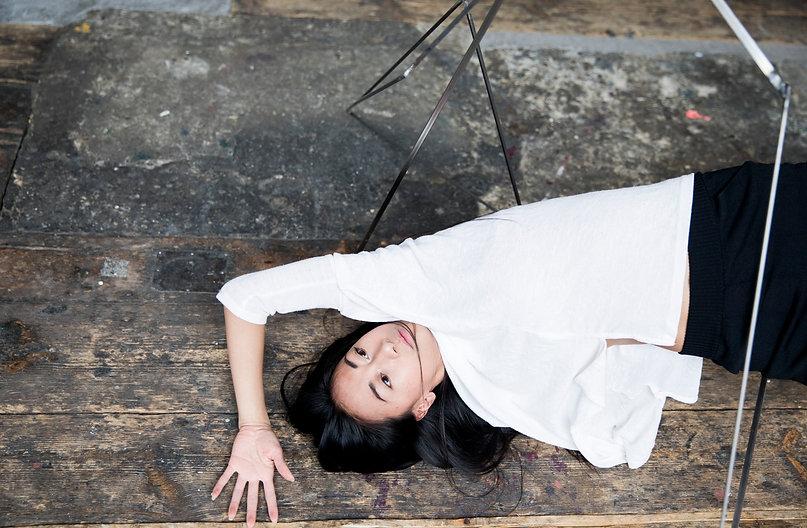 dance, performance, art, dancer, woman, geometric, sculpture, hair, minimalistic