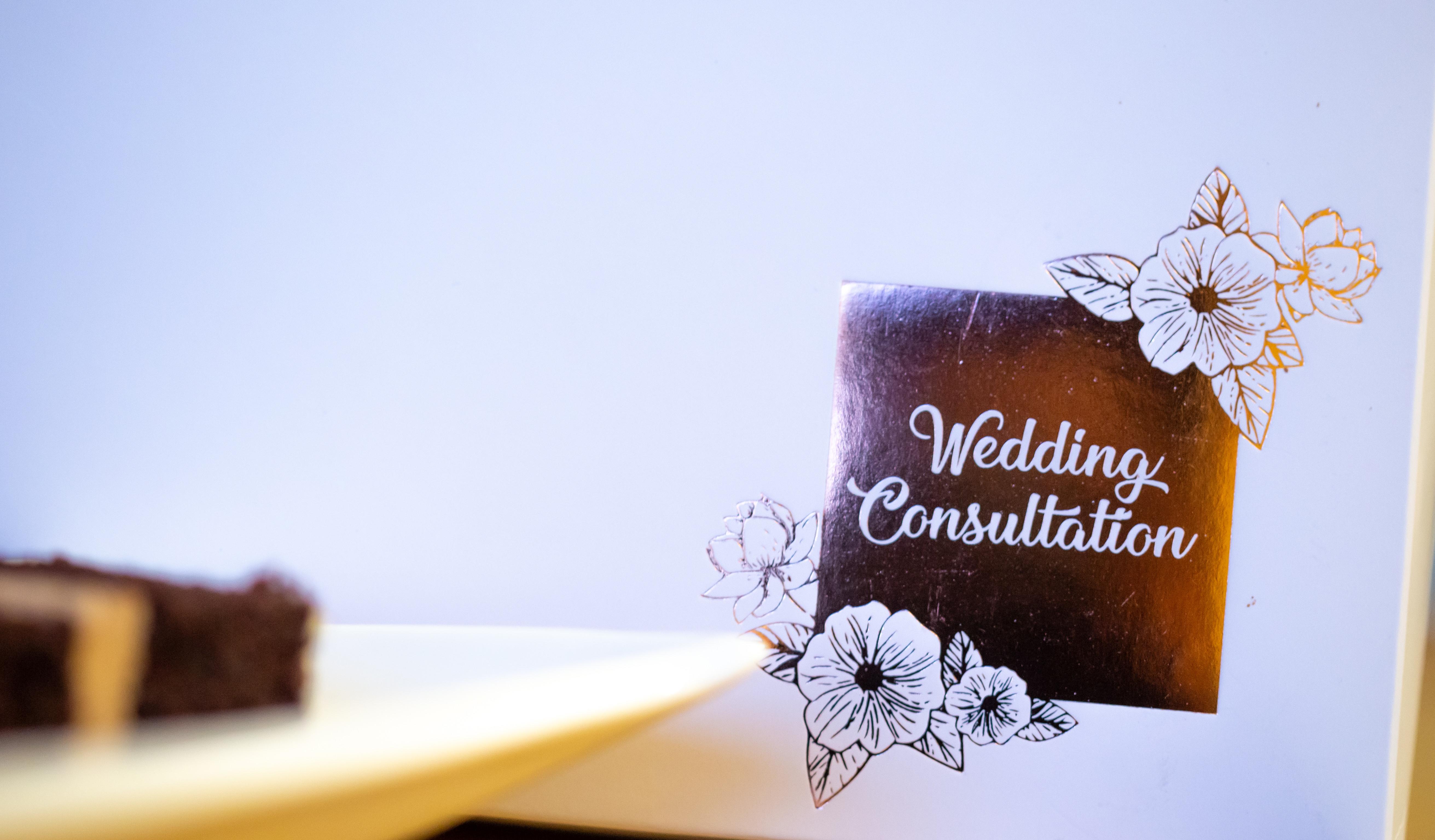 Wedding Cake Consultations