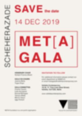 CORRECTED VC META GALA - 2019 - SAVE THE