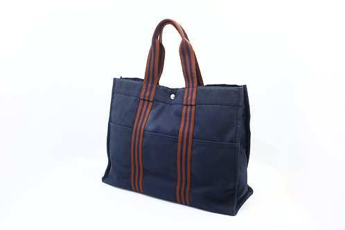 Hermes Forre Tout Canvas Tote GM