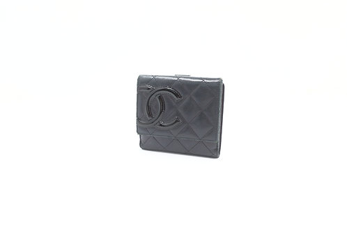 Chanel Cambon Compact Snap Wallet