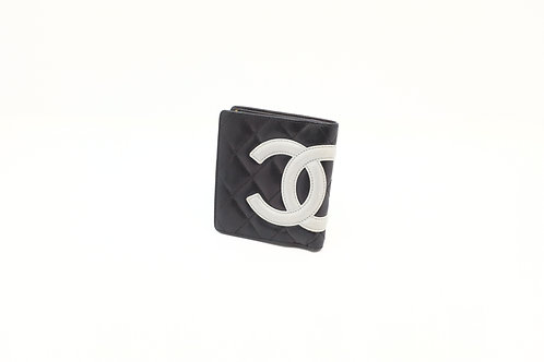 Chanel Button Snap Bifold Wallet