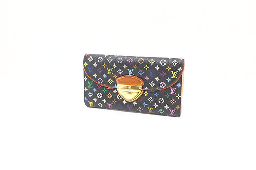 Buy preloved Louis Vuitton Eugene Long Wallet Multicolor